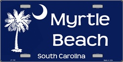 LP - 182 Myrtle Beach License Plate - X074