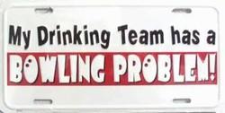 LP - 432 MY Drinking Team License plate - X004