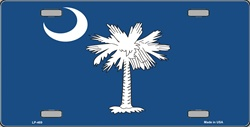 LP - 469 South Carolina License Plate - 2044