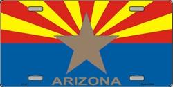 LP - 471 AZ Arizona Big Star w/Arizona License Plate - 2220