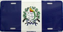 LP - 488 Guatamala Flag License Plate - 2384