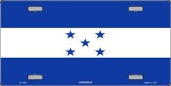 LP - 489 Honduras Flag License Plate - 2386