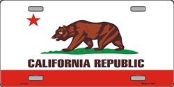 LP - 531 California License Plate - 952