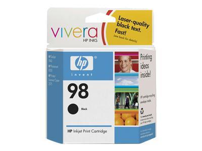 HEWLETT PACKARD C9364WN#140 HP 98 Black Inkjet Cartridge EAS
