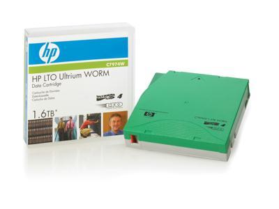 HEWLETT PACKARD C7974W HP LTO4 Ultrium 1.6G WORM Data Tape