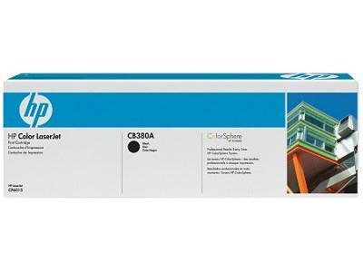 HEWLETT PACKARD CB380A HP CP6015 Black Print Cartridge