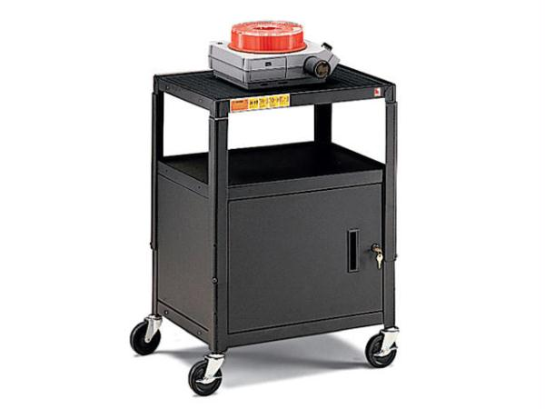 BRETFORD A2642 AV CART  ADJ TOP SHELF  4 CASTERS