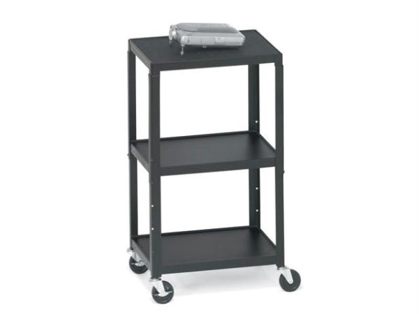 BRETFORD A2642E AV CART  ADJ TOP SHELF  4 CASTERS