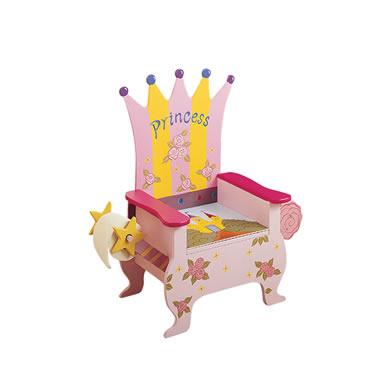 Teamson W-4105B Princess Potty Chair
