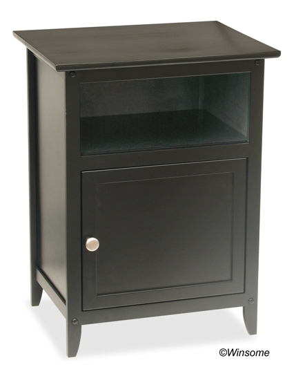 Winsome 20115 End / Night Table - Black