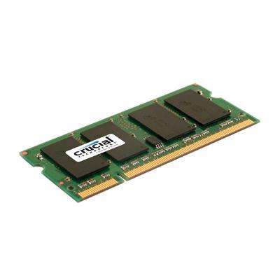 Crucial Technology CT25664AC800 2GB 200-pin SODIMM DDR2