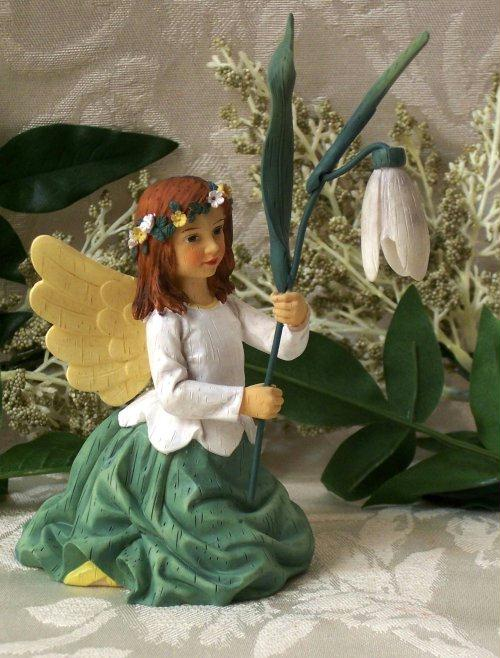 Wildflower Angel Snowdrops