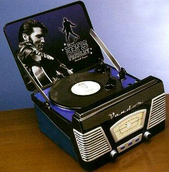 Elvis Presley Record Player Cookie Jar