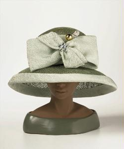 Derby Hats - Ms Harriet Rosebud Designer Hat - The Derby
