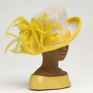 Designer Hats - Ms Harriet Rosebud Designer Hat - Sunny Day