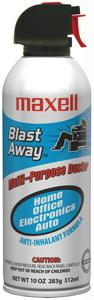 MAXELL 190025 - CA3 BLAST AWAY CANNED AIR