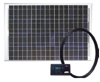 Go Power GPRV50 50 Watt Solar Kit With Digital Regulator