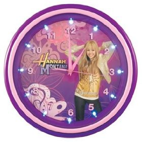 Kng 001732 Hannah Montan LED Musical Wall Clock
