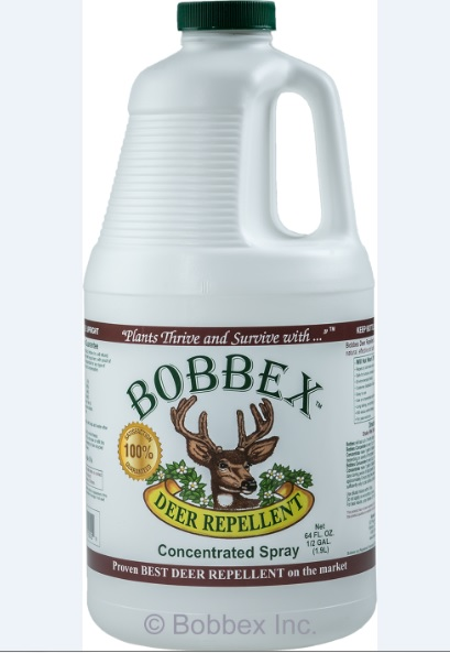 Bobbex B550105 Deer Repellant Concentrate .5 Gallon Bottle