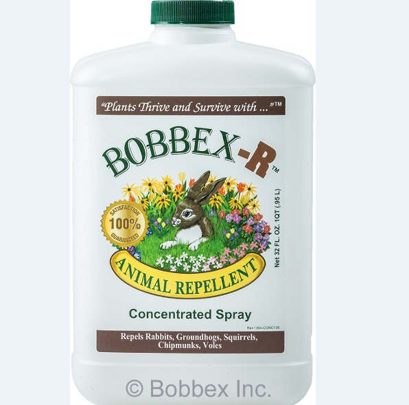 Bobbex-R B550120 Animal Repellant Quart Concentrate Bottle
