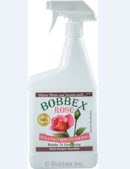 Bobbex Rose B550220 Deer and Insect Repellant 32 oz Ready to use Bottle