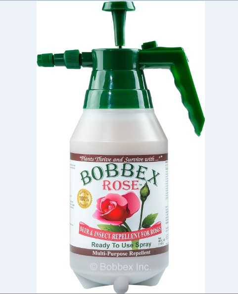 Bobbex Rose B550230 Deer and Insect Repellant 48oz E-Z Pump Ready to use Bottle