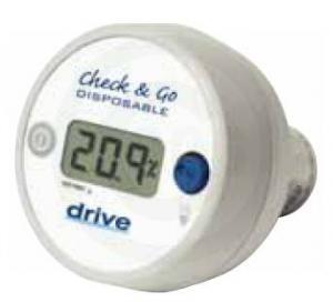 Drive Medical 18580 O2 Analyzer & Sensor-Disp 1 Each