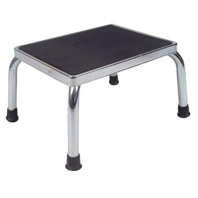 Drive Medical 13030-1SV Foot Stool-Dlx.Silvervein-1- Case