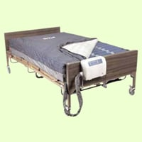 Drive Medical 14048 Med Aire Bariatric 48 inch Low Air Loss 10 inch Mattress and Pump System
