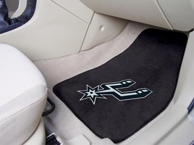 Fanmats San Antonio Spurs 2-piece Carpet Car Mat Set