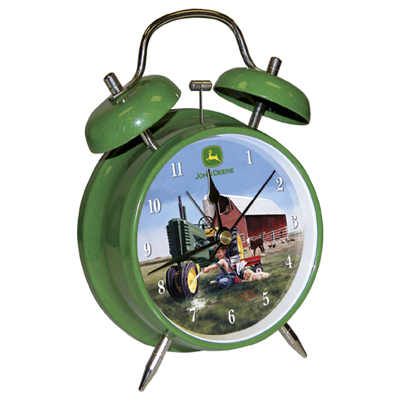 John Deere 06023 JD Childs Twin Bell Alarm Clock