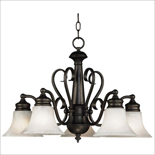 Kenroy Home 91395BBZ Wynwood 5 Light Chandelier- Burnished Bronze Finish