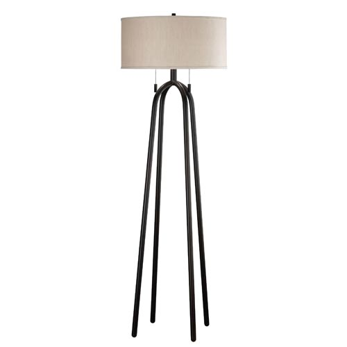 Kenroy Home 21389ORB Quadratic Floor Lamp- Oil Rubbed Bronze Finish