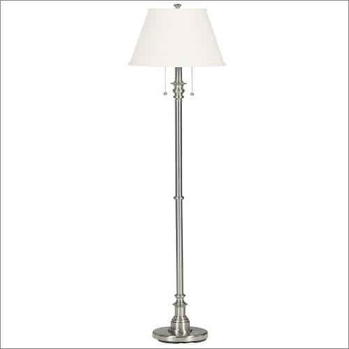 Kenroy Home 30438BS Spyglass Floor Lamp- Brushed Steel Finish