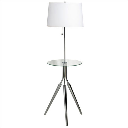 Kenroy Home 30510CH Rosie Floor Lamp with Tray- Chrome Finish