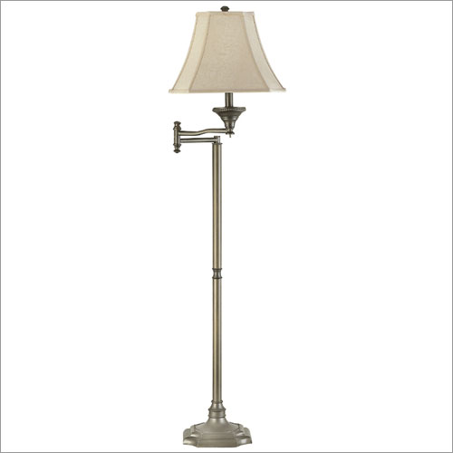 Kenroy Home 33051BBZ Wentworth Swing Arm Floor Lamp- Burnished Bronze Finish