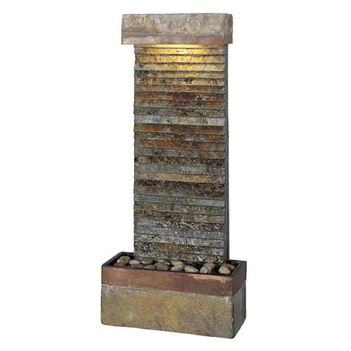 Kenroy Home 50290SLCOP Tacora Horizontal Fountain