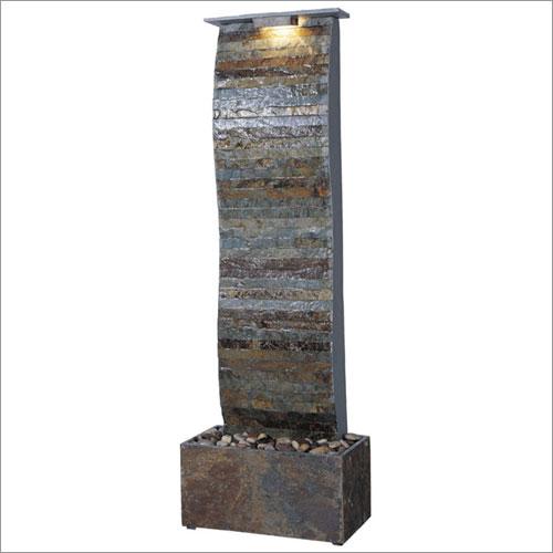Kenroy Home 50251SL Curvature Slate Floor Fountain- Natural Slate Finish