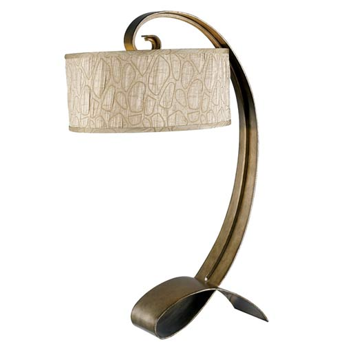 Kenroy Home 20090SMB Remy Table Lamp- Smoked Bronze Finish