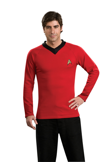 Costumes For All Occasions RU888984LG Star Trek Classic Red Shirt Large
