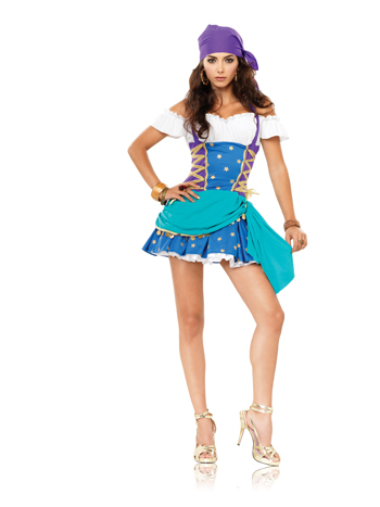 Costumes For All Occasions UA83486XL Gypsy Princess XL