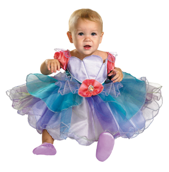 Costumes For All Occasions DG50507W Ariel Infant 12-18 Month