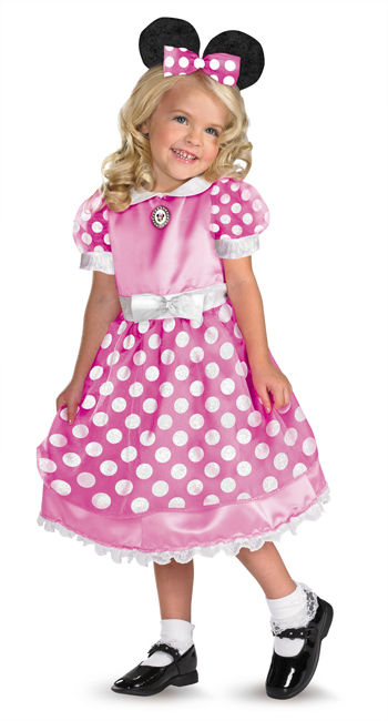 Costumes For All Occasions DG50105S Clubhouse Minnie Pink Small 2T
