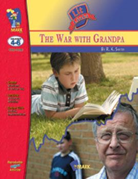 On The Mark Press OTM14206 War with Grandpa The Lit Link Gr. 4-6