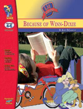 On The Mark Press OTM14257 Because of Winn Dixie Lit Link Gr. 4-6
