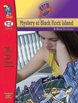 On The Mark Press OTM1437 Mystery at Blackrock Island Lit Link Gr. 7-8