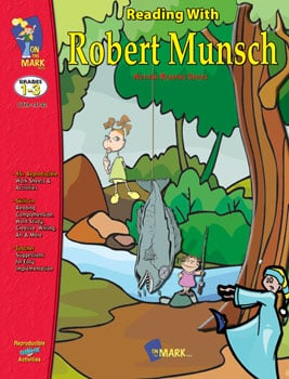 On The Mark Press OTM14142 Reading With Robert Munsch Gr. 1-3