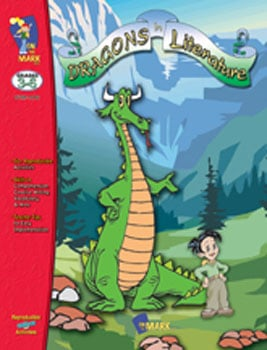 On The Mark Press OTM1416 Dragons in Literature Gr. 3-6