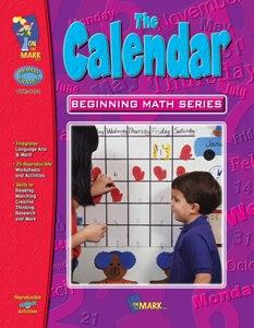 On The Mark Press OTM1104 Calendar Beginning Math Series Gr. 2-3