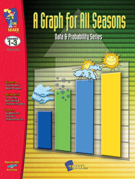 On The Mark Press OTM1114 A Graph for all Seasons Gr. 1-3